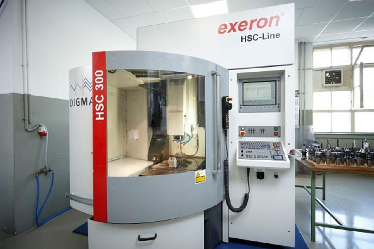HSC-Fräsmaschine Exeron